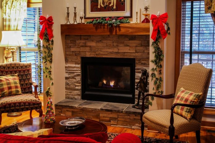 brickwork fireplace