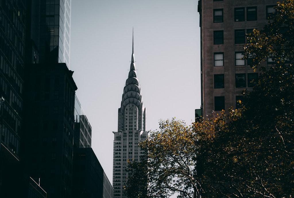 Chrysler Building art deco style