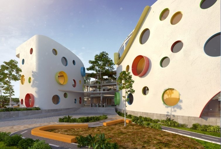 Eco-Kindergarten designed by Lava