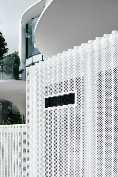 CORRUGATED PERFORATED FRONT GATE AND BOUNDARY WALL