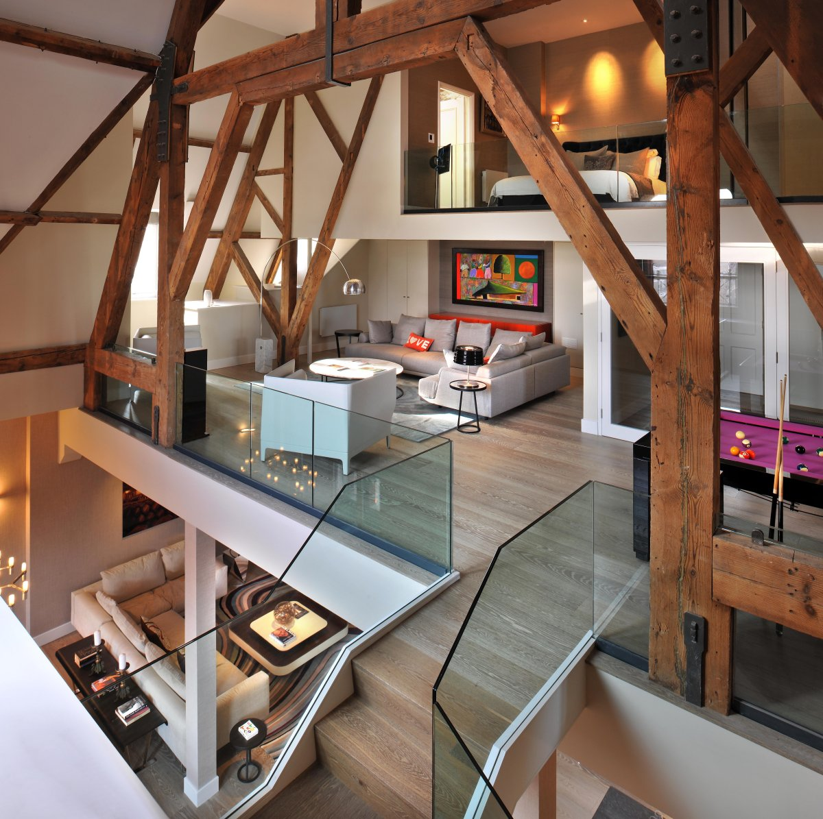15 Of The Most Interesting Double Height Living Rooms