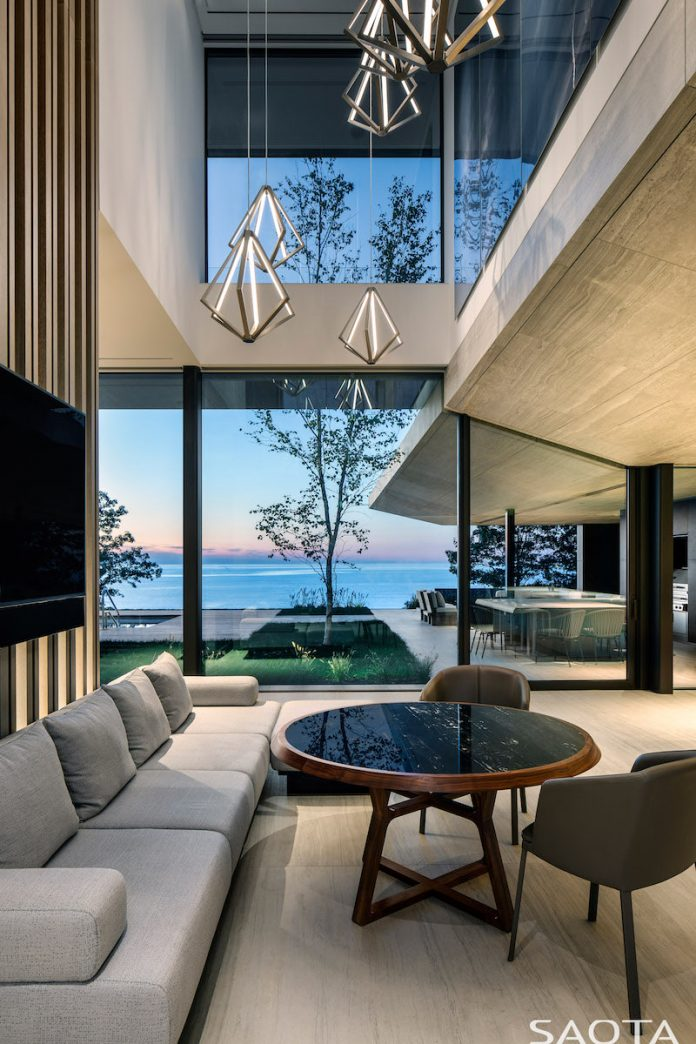 Lake Huron Residence by SAOTA
