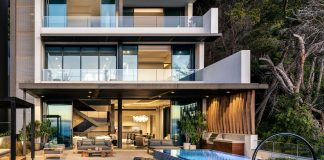 South Villa by SAOTA, a five-story penthouse in Clifton Terraces