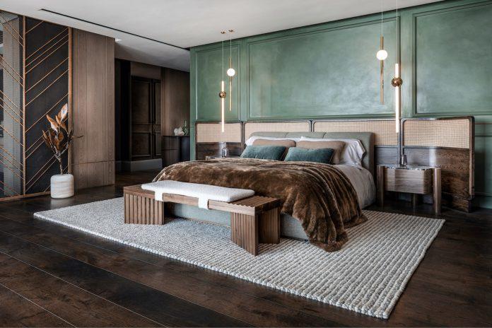 bedroom design, Clifton Terraces