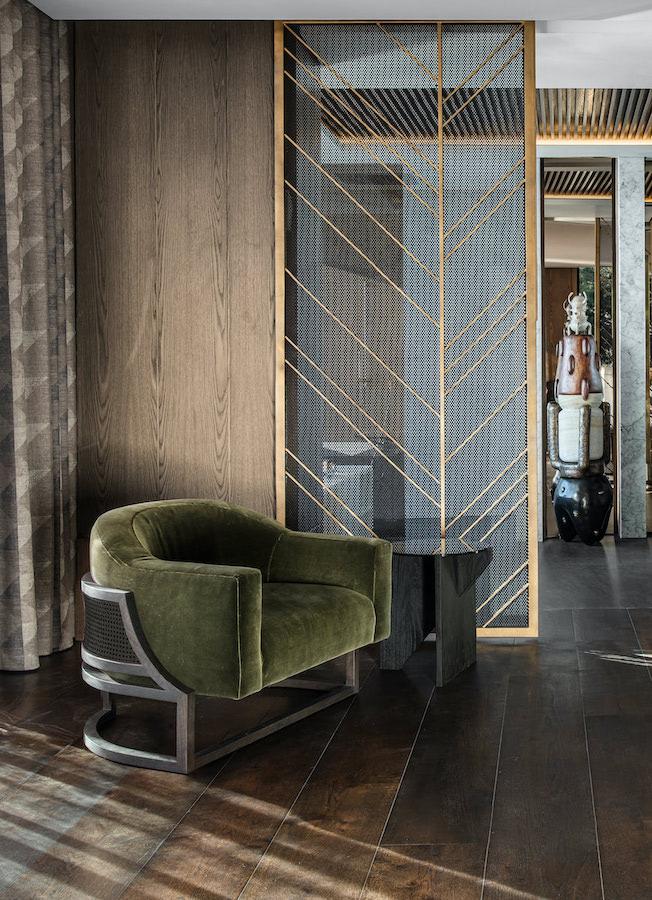 saota bedroom details, Clifton Terraces