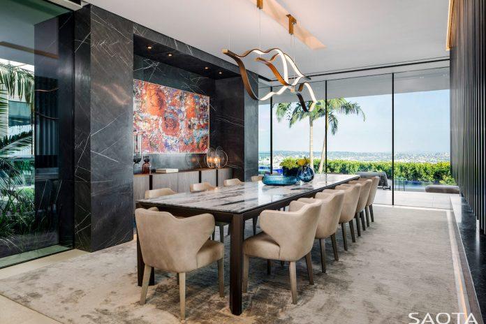 SAOTA's Hillside home in Los Angeles - dining room