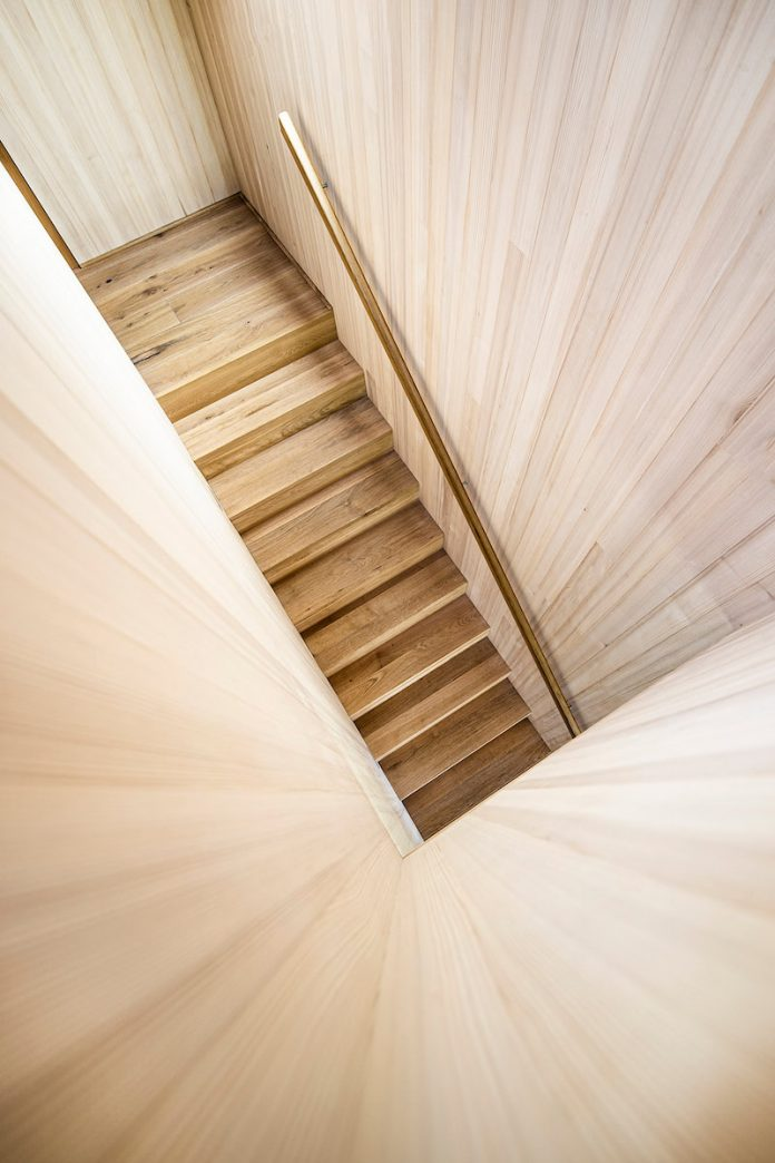 CLT structure - staircase