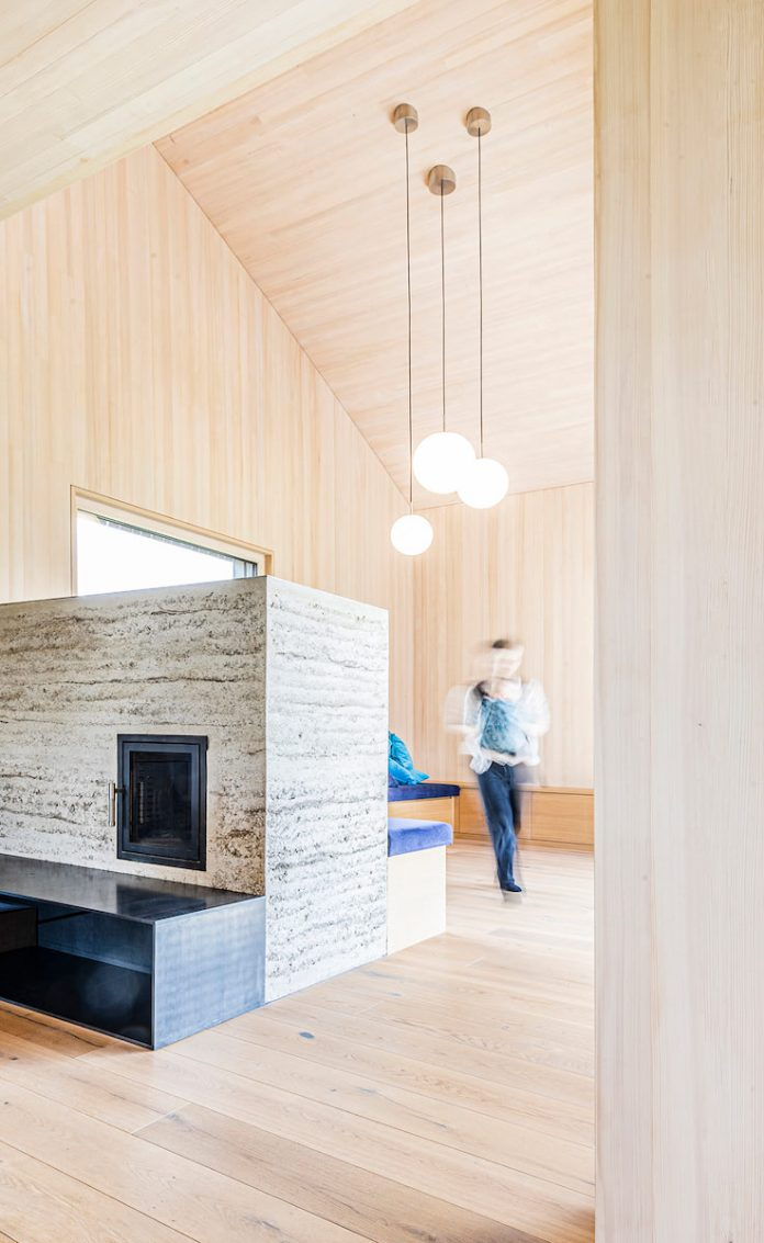 CLT structure eco home