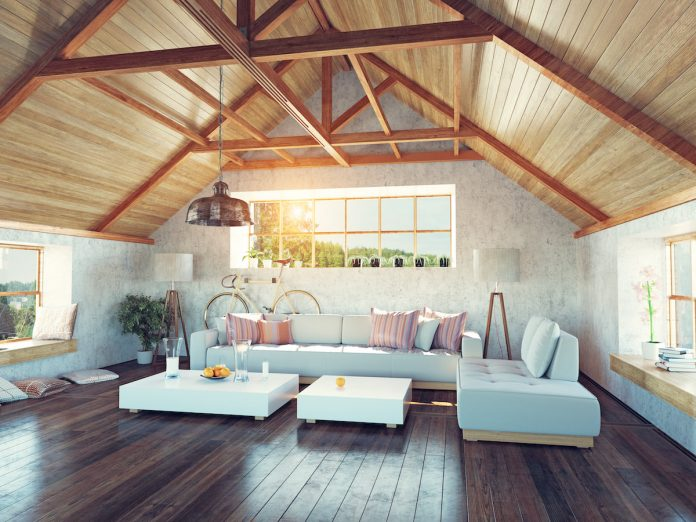 How to Transform an Unfinished Attic Into a Luxury Hangout